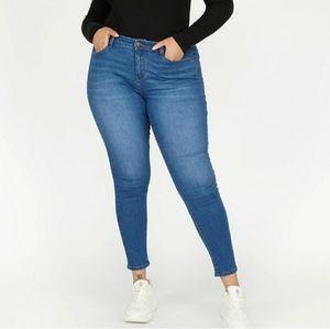 Forever 21 High Rise Skinny Jeans Plus 16 trendy